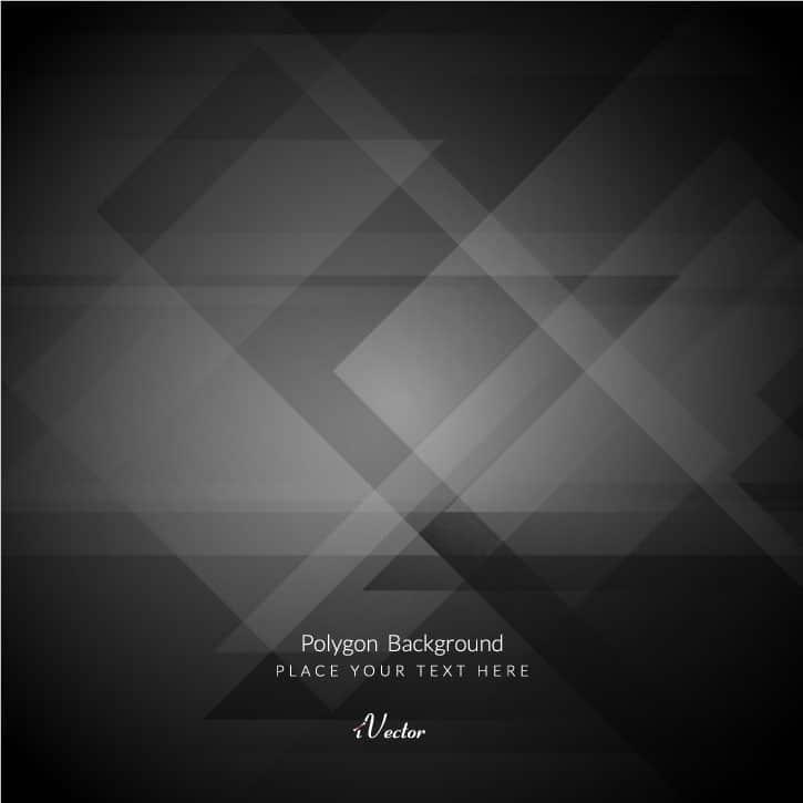 زمینه چند ضلعی مشکی خاکستری+Black-polygon background