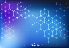 وکتور زمینه آبی blue vector