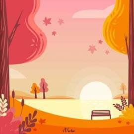 وکتور پاییز autumn-vector