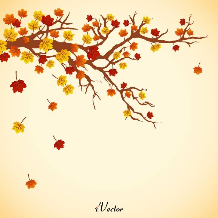 طرح وکتور بک گراند پاییز autumn free vectors