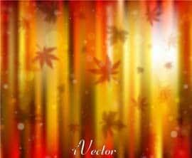 وکتور طرح پاییز Autumn Vector