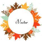وکتور برگ های پاییزی Autumn Vector Art