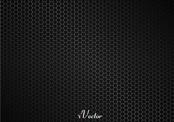 وکتور لانه زنبوری مشکی black vector background