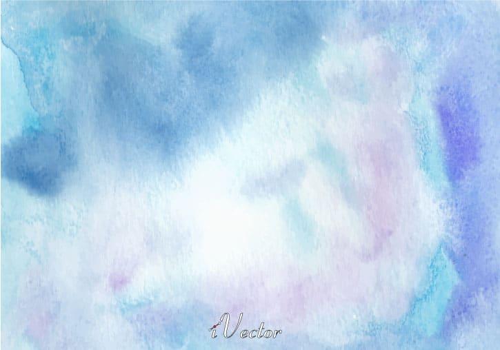 وکتور طرح ابر و باد زمینه آبی blue vector background