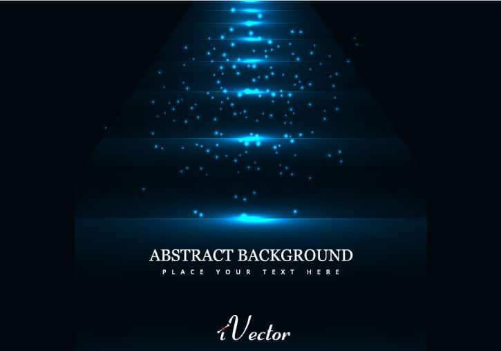 وکتور آبی زمینه مشکی blue vector with black background