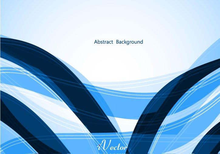 وکتور موج آبی blue wave vector