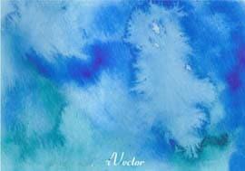 وکتور آبی با طرح آبرنگ blue vector background