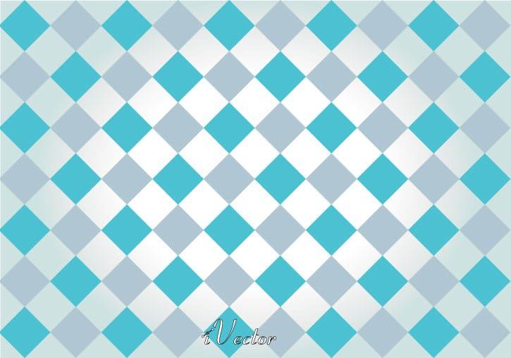 وکتور لوزی آبی خاکستری طرح کاشی کاری blue and gray vector background