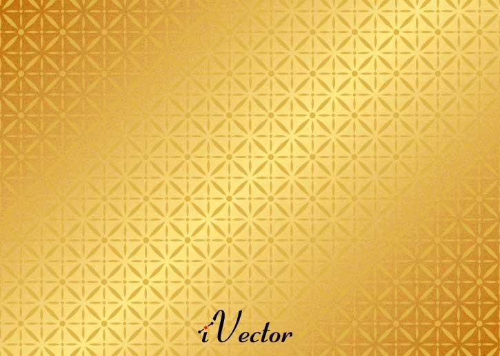 وکتور پترن طلایی golden vector pattern