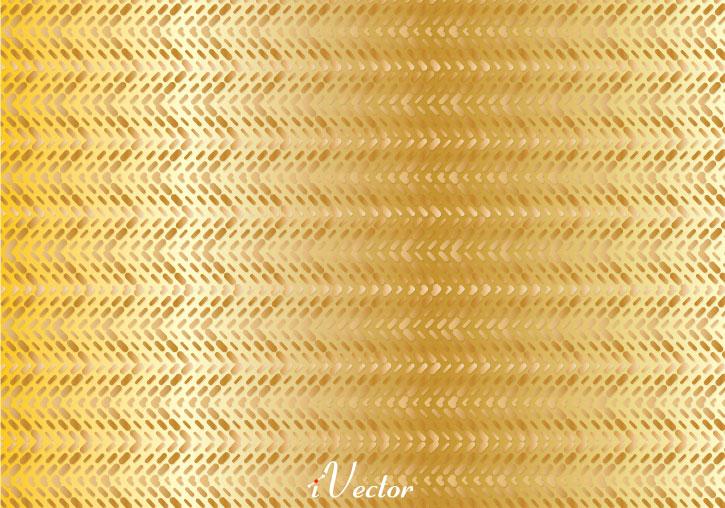 پترن طلایی رنگ golden vector pattern