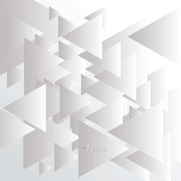 وکتور زمینه خاکستری طرح مثلث triangle gray vector background