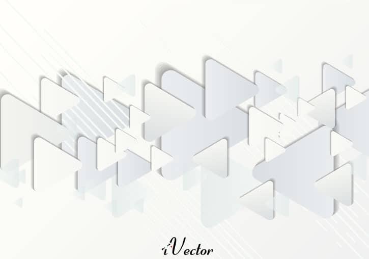 وکتور مثلث های خاکستری Triangle Pattern Free Vector