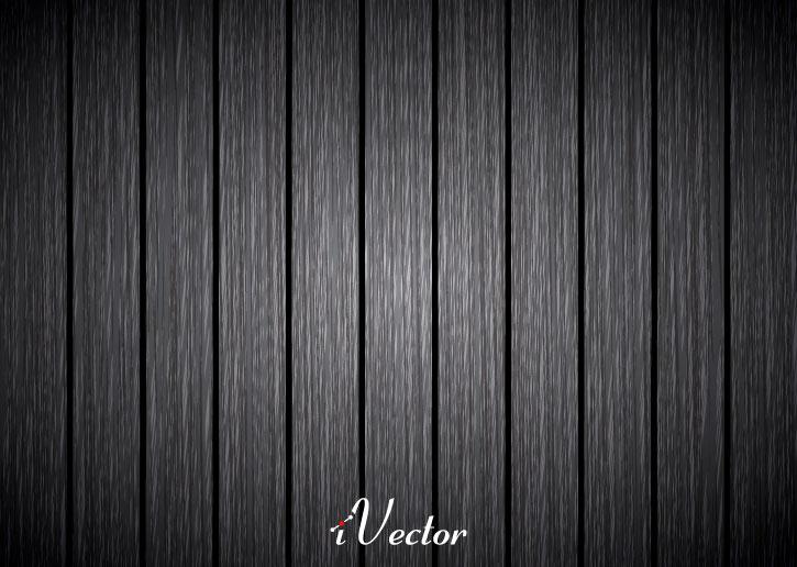 وکتور طرح چوب مشکی خاکستری Dark Grey Wood Texture Background