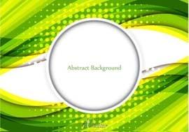 وکتور موج سبز green wave vector