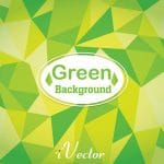 وکتور چندضلعی سبز رنگ green polygon vector