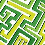وکتور خط خطی های نا منظم سبزgreen vector