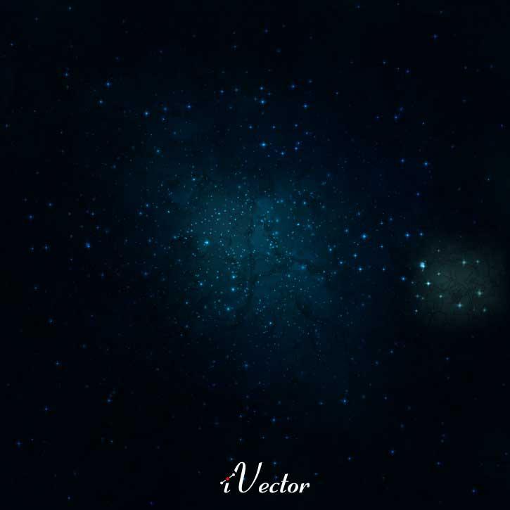وکتور ستاره های کهکشان Galaxy Stars Free Vector Art