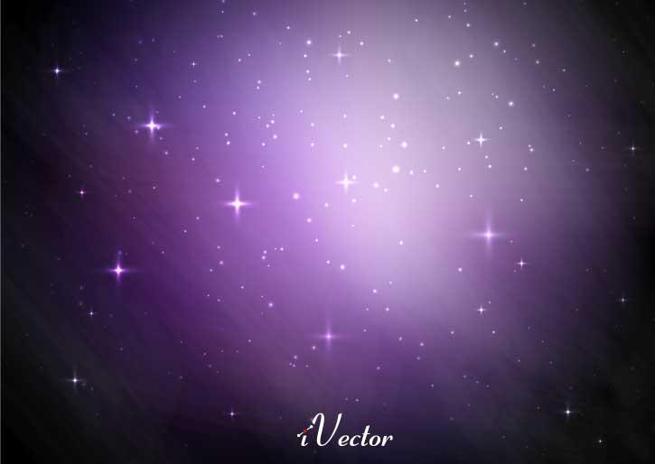 وکتور ستاره های کهکشان galaxy stars vectors