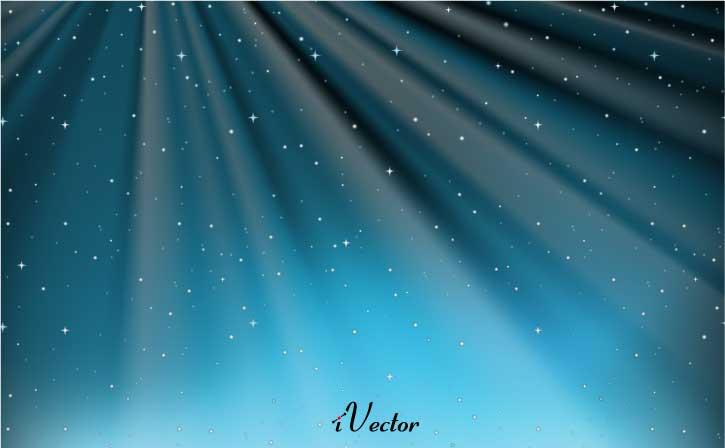 وکتور رویایی ستاره های کهکشان galaxy stars vectors