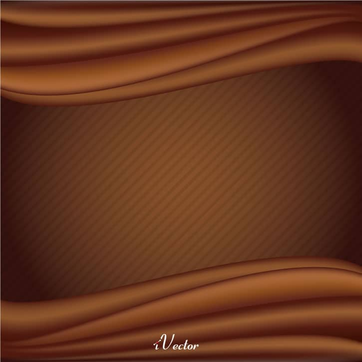 پس زمینه شکلاتی chocolate background vector