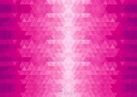 وکتور زمینه صورتی طرح مثلث Pink Triangles Vector