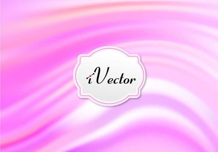 وکتور موج صورتی pink wave vector