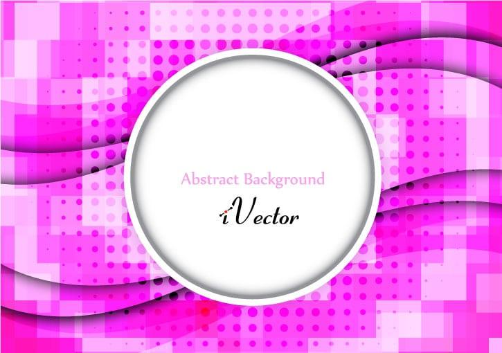 موج وکتور زمینه صورتی pink wave vector