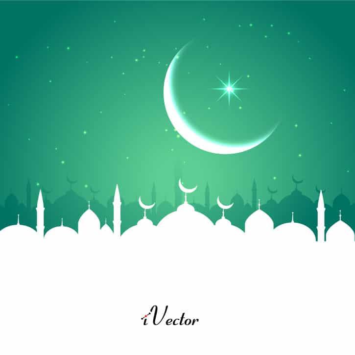 طرح وکتورماه رمضان rmadan mobarak vector