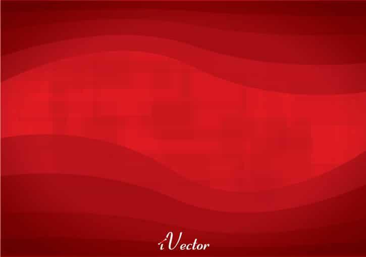 وکتور موج زمینه قرمز red wave background vector