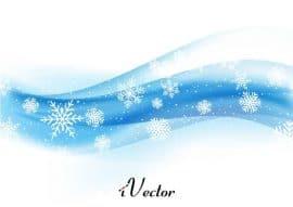 وکتور موج با طرح زمستانWinter Wave vectors