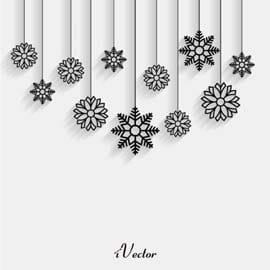 وکتور کریسمس Winter Vector Stock Image