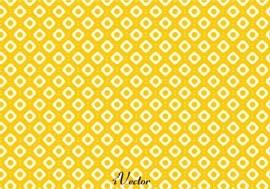 پترن طرح لوزی زرد زمینه سفید yellow and orange pattern