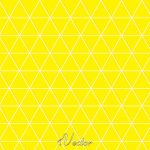 وکتور زمینه زرد طرح مثلثtriangle yellow vector background